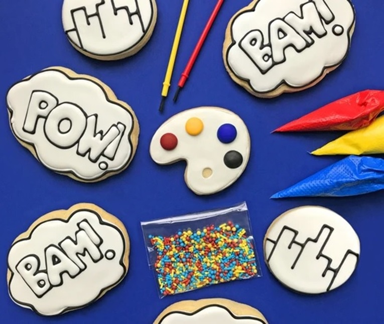 Looking for a way to make eating more fun? Try Color My Cookie!
